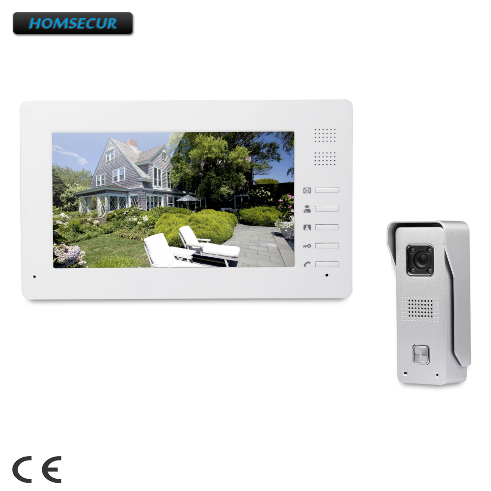 HOMSECUR 7 Video Security Door Phone With Intra-monitor Audio Intercom For Home Security  XC002+XM706HOMSECUR 7 Video Security Door Phone With Intra-monitor Audio Intercom For Home Security  XC002+XM706