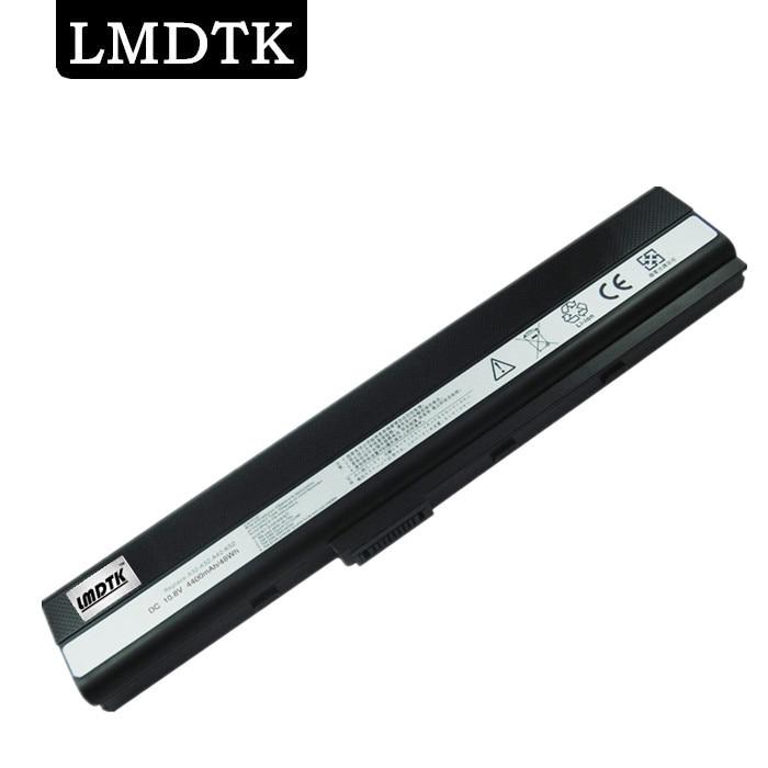 LMDTK Nytt laptop batteri för Asus A52 A52F A52J A52JB A52JK K42 K52 K52JB K52JK K52Jr A31-K52 A32-K52 A41-K52 A42-K52 6 celler
