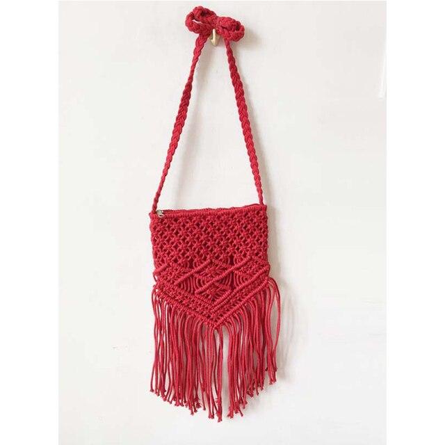 brixini.com - Handmade Rope Woven Handbag