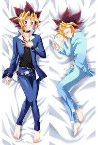 Image 3 - Hot Anime Yu gi oh! charactor Yugi Muto Dark Magician Girl body PillowCase Game King body pillow cover