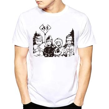 South Park Male T Shirt 2018 Fashion
