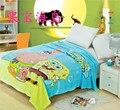 Esponja de Agua para Niños de Coral polar mantas de la cama, La Película SpongeBob ropa de cama, cubierta, colcha 150X200 CM