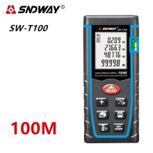 40M 60M 80M 100M Laser distance meter Digital Laser rangefinder Laser range finder Measure Distance/Area/volume Angle Laser tape 100m 328ft laser rangefinder digital laser distance meter handheld range finder area volume measurement level bubble