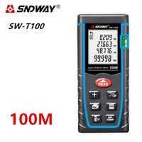 SNDWAY télémètre Laser télémètre Laser télémètre métro Laser ruban à mesurer 40M 60M 80M 120M règle Roulette