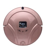 FR FOX Robot Vacuum Cleaner House Carpet Floor Anti Collision Anti Fall Self Charge Remote Control