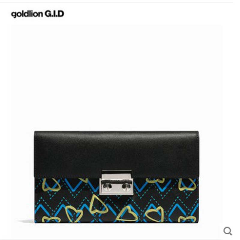 jinlilai Woman bag 2018 New trend Korean version of the fashion printing leather lady's handbag with a large luminous wallet щётка скребок autovirazh av 2116