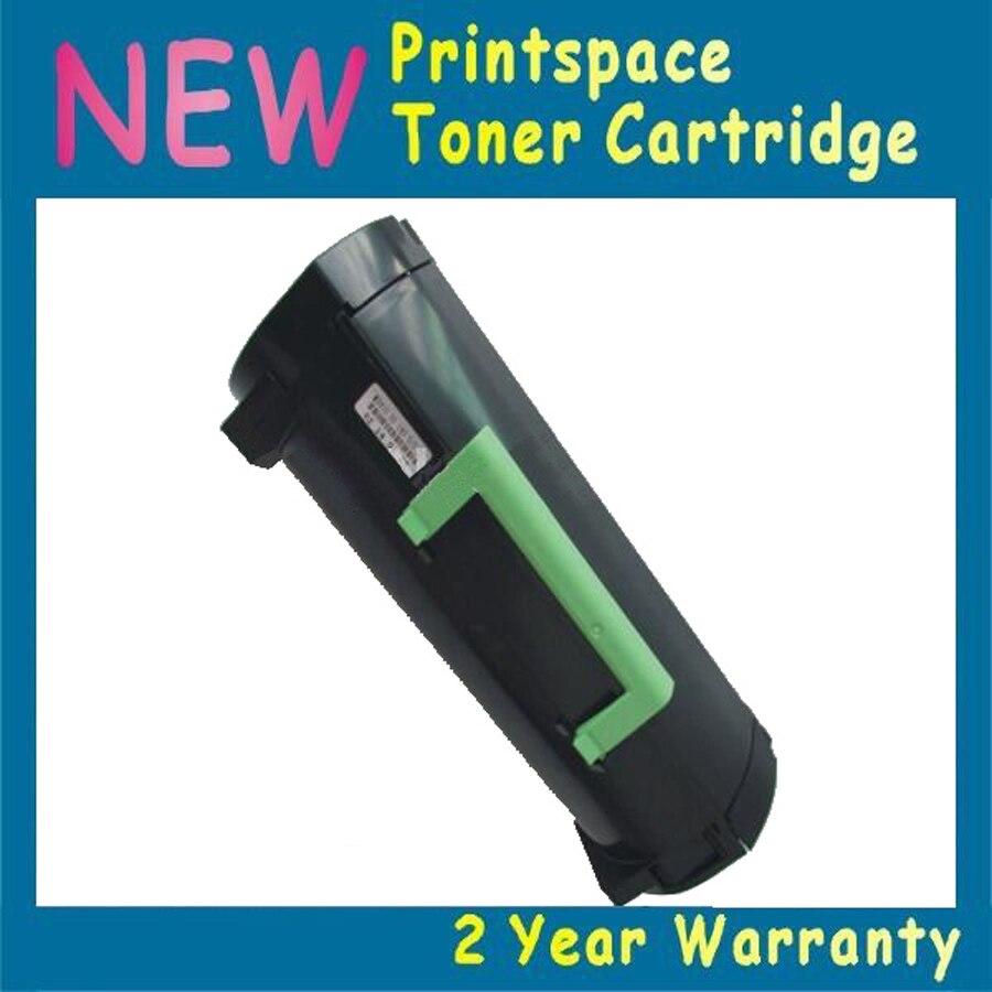 1x NON-OEM High Capacity Toner Cartridge Compatible For Lexmark MS510 MS510de (5000 pages) compatible toner lexmark c930 c935 printer laser use for lexmark refill toner c940 c945 toner bulk toner powder for lexmark x940