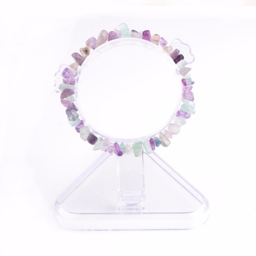 Summer Bracelet Multicolor Natural Stone Chips Single Strand Women Bracelets Tiger Eye Reiki Lovers Gift 5