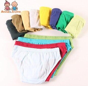 Хлопковое нижнее белье для мальчиков, 6 шт. детские трусики, нижнее белье Infantil, детские трусы, нижнее белье для мальчиков, трусы для детей от 2 ...