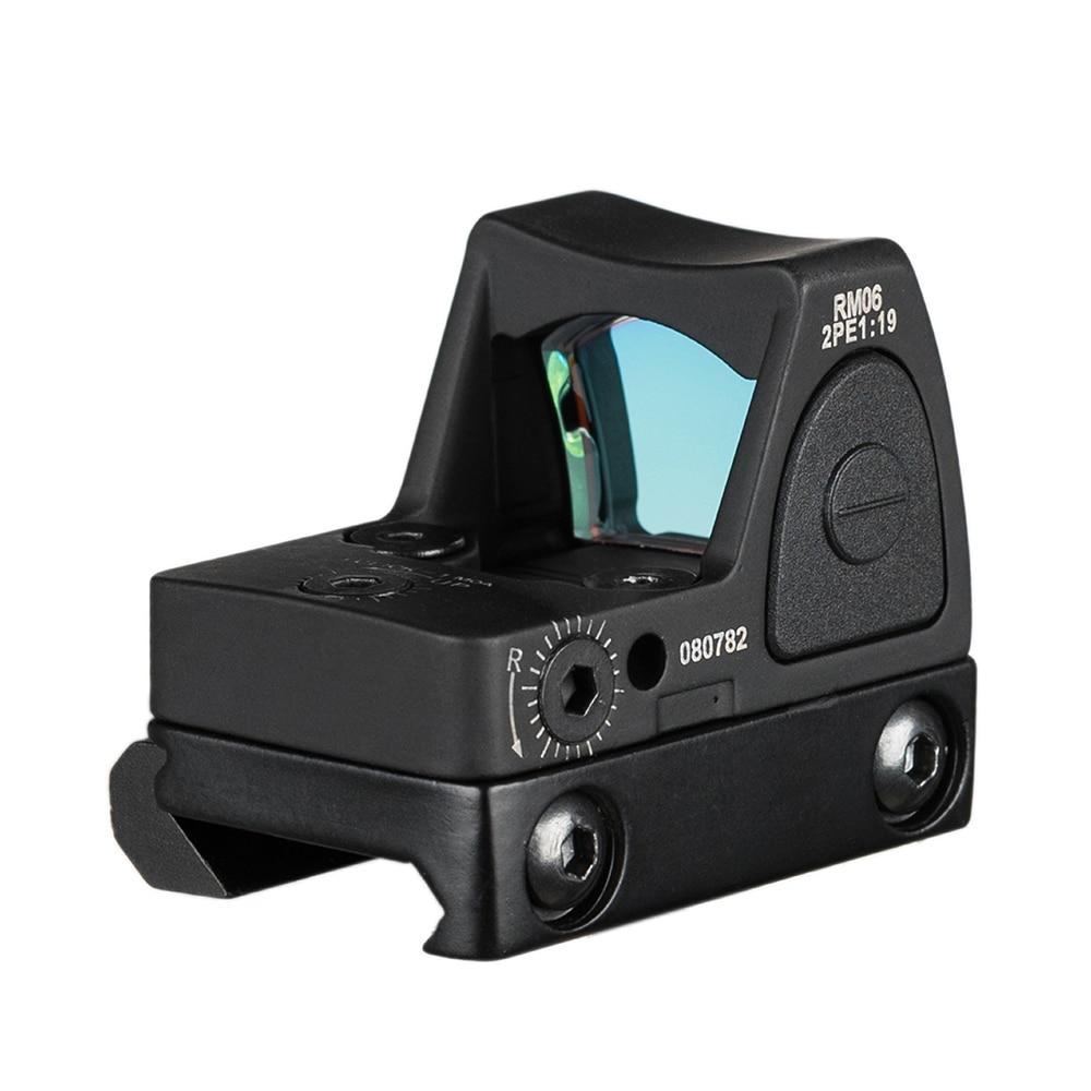 Image 2 - Hunting Glock Optical Micro Reflex Red Dot Sight Scope Riflescope Adjustable Brightness Rifle Scopes Airsoft Optics Sigh-in Riflescopes from Sports & Entertainment