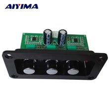 AIYIMA NE5532 carte de tonalité HIIF sans perte Audio aigus réglage des basses tonalité pour amplificateur de puissance haut parleur actif contrôle du Volume
