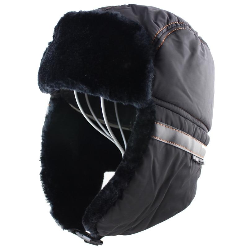 Winter Hat Men Women Bomber Hat with Scarf Anti-haze Mask Russian Ushanka  Thermal Trapper Hat Trooper Earflap Snow Ski Balaclava b93c173fcee