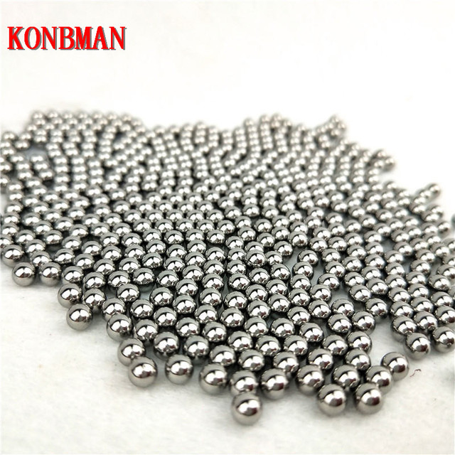 Shooting Steel Balls 5mm 6mm 7mm 8mm 9mm 10mm 11mm Hunting Slingshot Stainless AMMO outdoor wholesale 100pcs/lot 1
