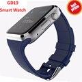 Bluetooth Smart Watch GD19 Часы Smartwatch Спортивные Часы Наручные Часы Для Apple iPhone Android Телефон Камеры PK dz09 samsung gear s2