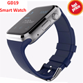Relógio bluetooth smart watch gd19 smartwatch relógio do esporte relógio de pulso para apple iphone android câmera do telefone dz09 pk samsung gear s2