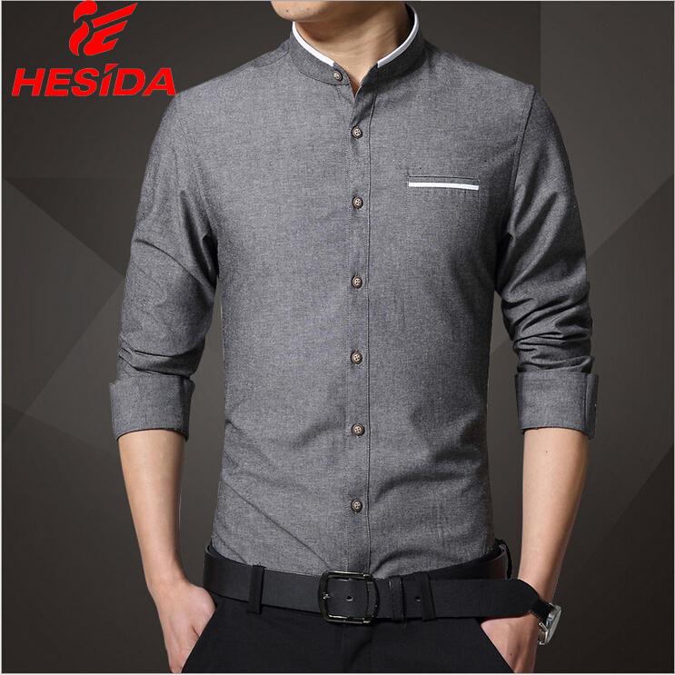 Mens Slim Fit Linen Shirts