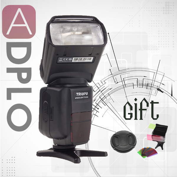 Buy 1 get 2 gift !TR-985 ITTL 1/8000S camera flash light speedlite suit for NIKON D750 D810 D7000 DF цены онлайн