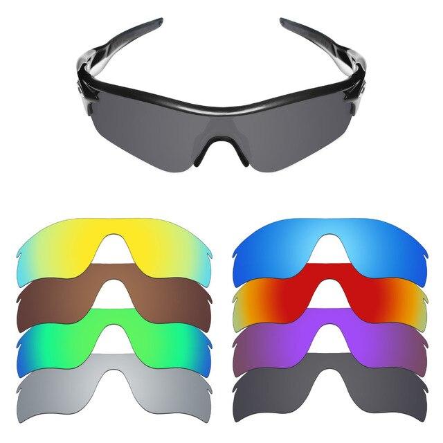 8ac0b5108f956 Mryok Polarizada Lentes de Reposição para Lentes De Óculos De Sol Oakley  Radarlock caminho (Lente