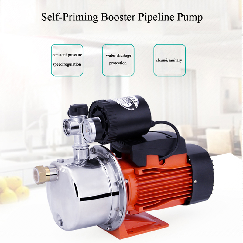 water pump pressure booster hot water pressure booster pump for home 220V automatic water booster pump small water booster pump ctr associated with switch potentiometer single handle length 15fmm a50k