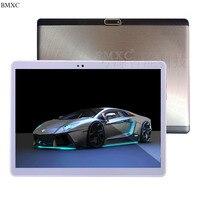 BMXC nueva llegada 4G de la tableta del androide 7.0 de la Tableta de 10.1 pulgadas Octa/10 Core GPS kids tablet 10 3G Tableta de la llamada de Teléfono 10 bluetooth + regalos