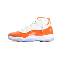 44a9307a389ce Jordan 11 Basketball Shoes White Orange Winter Shoes Hot Warm Outdoor Sport  Shoes Cushion Sneakers New Color