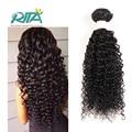50g Por Feixes de Cabelo Virgem Cor Natural Brasileiro Virgem Encaracolado Kinky Hair7A Top Quality Curly Weave Extensões de Cabelo Humano