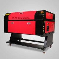 2018 60 W Gravador Do Laser Com Tela Colorida de 700*500mm Tubo Do Laser de CO2