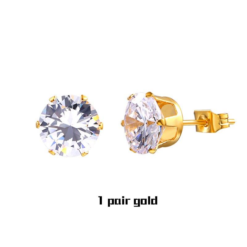 1 Pair Gold