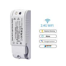 Умный дом Wi-Fi регулятор освещения выключатель света прерыватель Smart Life Приложение Поддержка для Alexa Google Home Domotica дистанционное управление