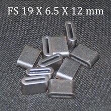 10 шт. плоский ферритовый сердечник EMI фильтр 19X6,5X12 мм антипаразитные сердечники кольцо антипаразитный тороид тороидальный шарик ферритовые черные