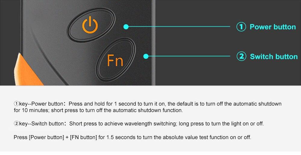 Ftth высокоточный портативный мини-волоконно-оптический измеритель мощности-70+ 3 дБм волоконно-оптический кабель тестер-50-+ 20