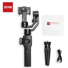 ZHIYUN Gimbal смартфон гладкой 4 3-осевой стабилизатор для переносного телефона для iPhone X Xs samsung s8, действий Камера vs dji osmo карман