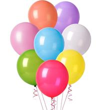 METABLE (160 Pcs) 12 Inches Assorted Color Party Balloons For party children wedding graduation favor supplies,no ribbon