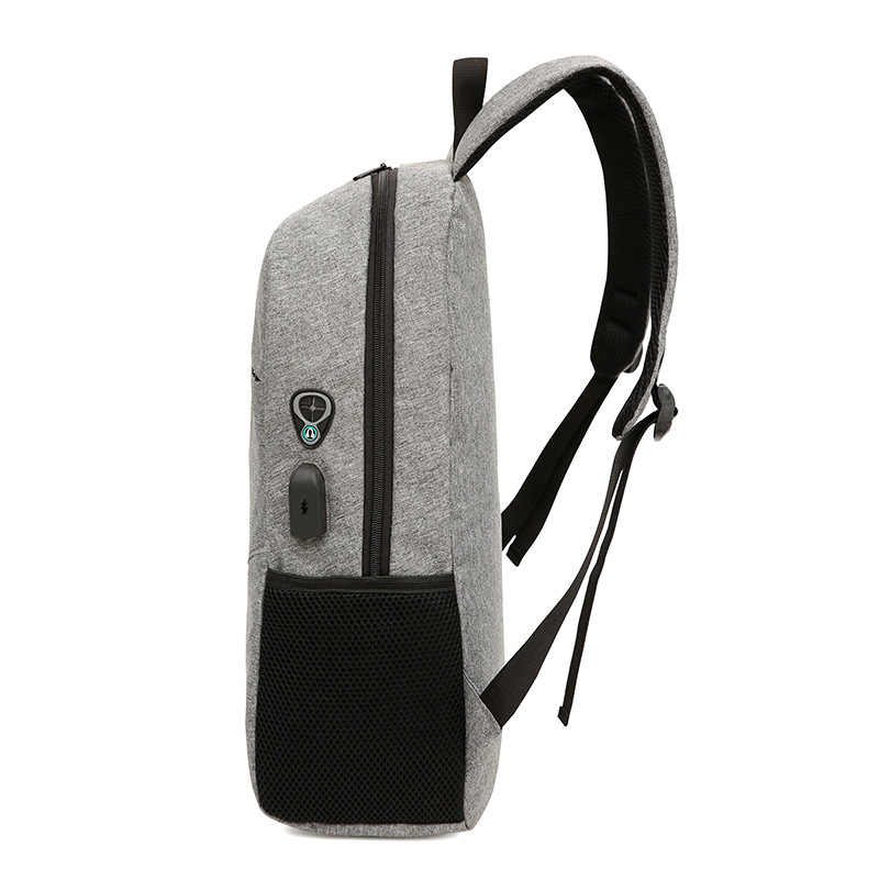 453e0c8ddf40 ... USB унисекс дизайн Рюкзак Книга Сумки для школы рюкзак повседневное  рюкзак Оксфорд холст ноутбук Модные мужские ...