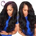 7A Top de Encaje Completo Pelucas de Pelo Humano Para Las Mujeres Negras de Seda Base Pelucas Llenas Del Cordón Onda Del Cuerpo Brasileño de la Virgen Del Pelo Del Frente Del Cordón pelucas