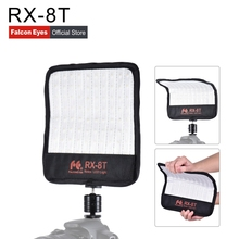 Falcon Eyes 18W Photo Light Portable LED 90pcs Flexible RX-8T with diffuser