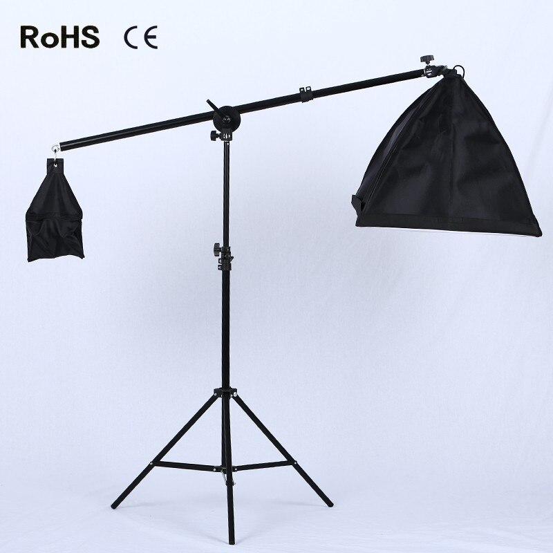 Professional Lighting Kit Boom Arm Hairlight Softbox, Lighting Kit for Studio Photography and Video Lighting