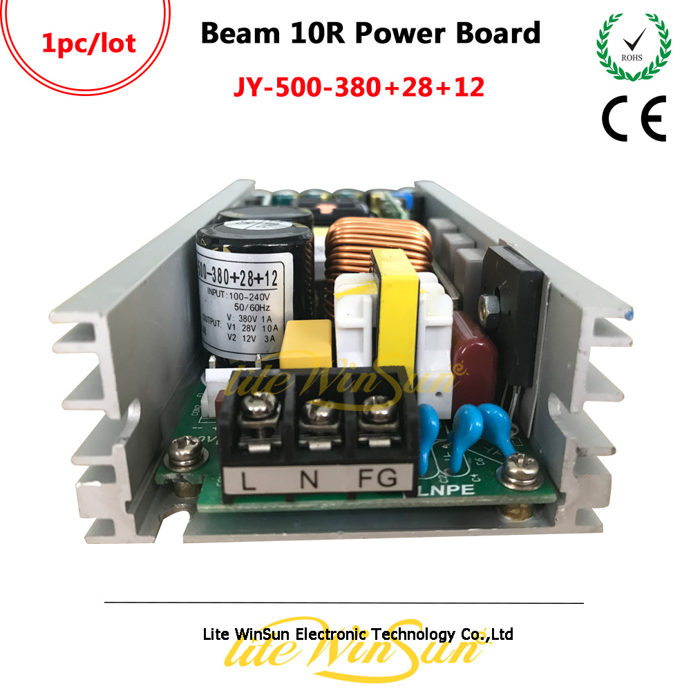 Litewinsune JY-500-380+28+12 Power Board Power Supply Power Drive For 10R Beam Moving Head Stage Lighting
