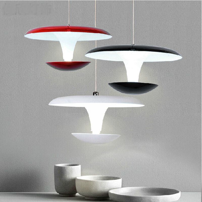 modern fashion creative aluminum red/black/white led pendant light for living room dining room AC 85-265V 1024 гарнитура creative ma 200 red black