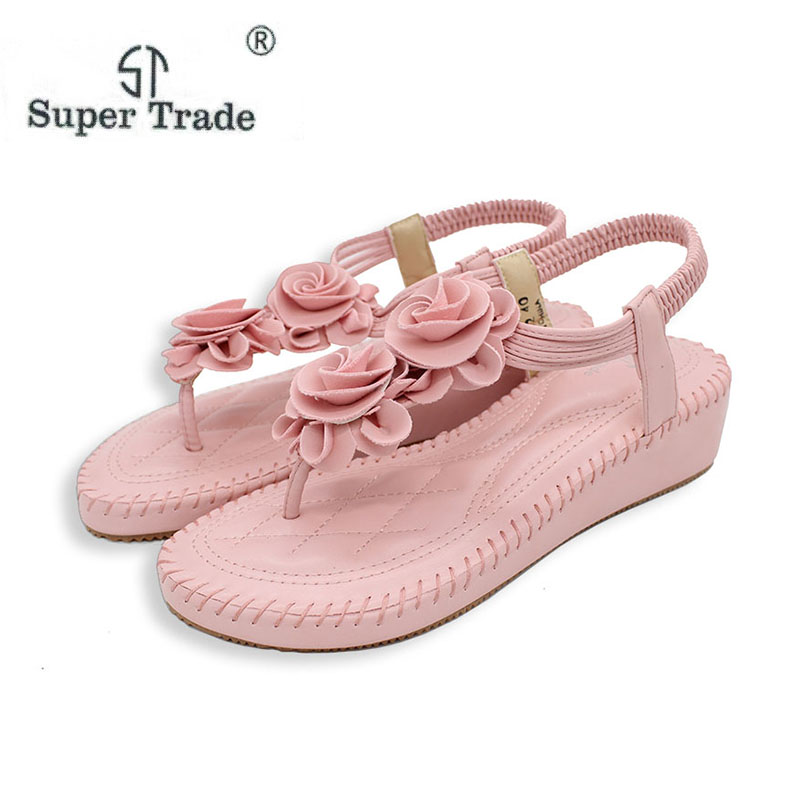 New Casual Sandals Bohemia High Heels Sandals Summer Women High Heel Sandals Pointed Toe High-Heeled Shoes Casual Shoes ST238-12 enmayer print wedge sandals new fashion pu women high heel sandals for women casual shoes bow summer shoes women big bohemia
