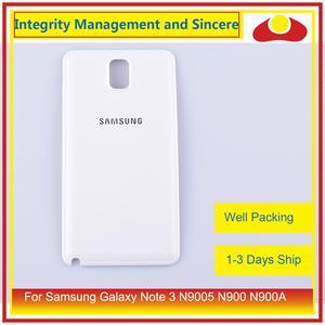 Image 2 - الأصلي لسامسونج غالاكسي نوت 3 N9005 N900 N900A N900T N900V N900S بطارية مبيت الباب الخلفي الغطاء الخلفي حافظة الهيكل