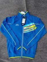 2015 High quality bosco sport russian national team mens sports jacket men's coat sport Men forward russia red blue