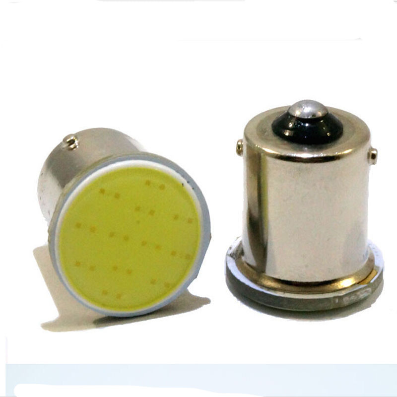 Useful 1pcs (White) Car COB 1156 BA15S Reverse lights Bulb Led parking Turn Signal Light Lamp 12v 2x 1156 led light cob led ba15s fog lamp daytime running light drl bulb h11 h7 h4 hb4 car signal reverse light bulb cob 20w led