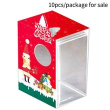 portable christmas box christmas gingerbread house baking candy biscuits creative gift boxchina