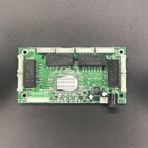 Image 2 - Oem pbc 4/8 포트 기가비트 이더넷 스위치 포트 4/8 핀 방식 헤더 10/100/1000 m 허브 4/8way 전원 핀 pcb 보드 oem 나사 구멍