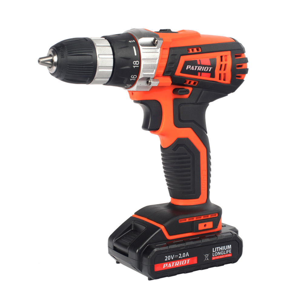 Cordless drill/screwdriver PATRIOT THE ONE BR 201Li cordless drill driver patriot br 104li the one