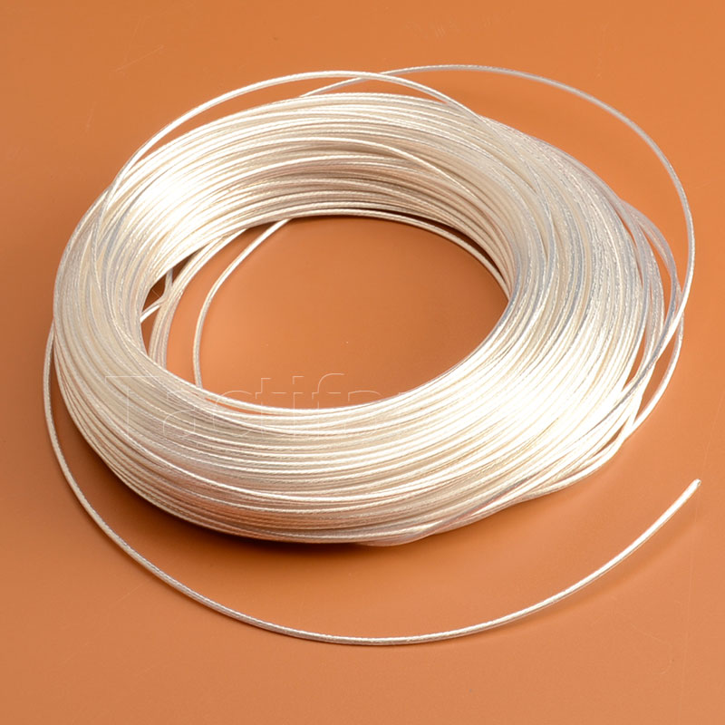 Teflon Coated Silver Plated Copper Wire Large Capacity High Temperature 1m Gearbox Airsoft AEG Army Hunting Shooting Accessories