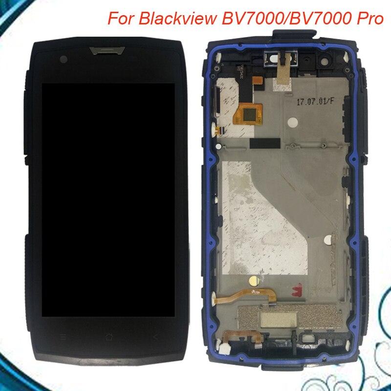 Pour Blackview BV7000 BV7000 PRO LCD Display + Écran Tactile Avec Cadre 100% Testé Écran Digitizer Assemblée DANS Stouck