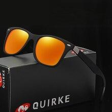 QUIRKE New men's and women's sunglasses women's fashion sunglasses driver's driving glasses.