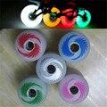 8 Pcs 100% Original Lunshanglun 90A LED Flash Inline Skates shine Wheel with Magnetic Core, Shining Roller Wheels Colorful Light